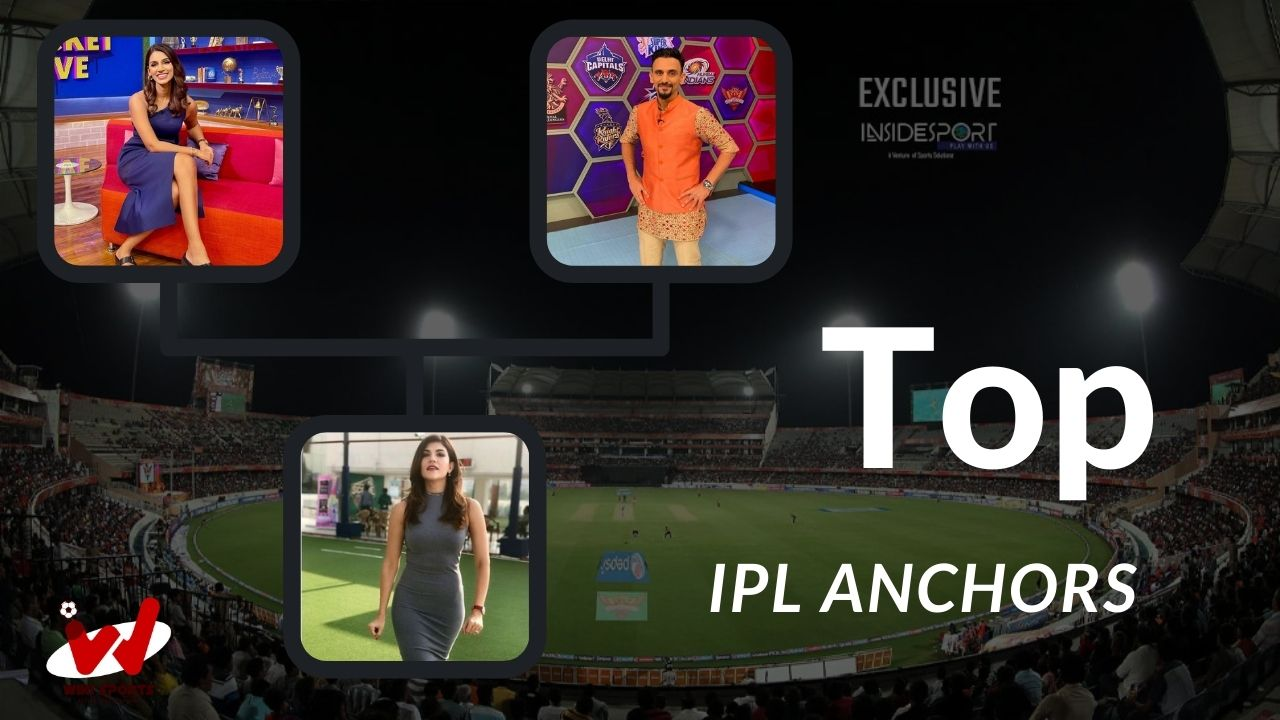 IPL Top Male And Female Anchors in 2021